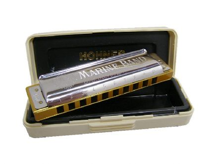 Marine Band Harmonica from Hohner 000017